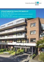 Qualitätsbericht 2018 - Krankenhaus Elbroich