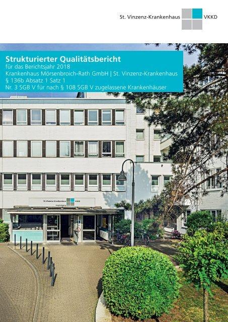 Qualitätsbericht 2018 - St. Vinzenz-Krankenhaus