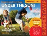 Jennersville Summer Camp Guide - 2020