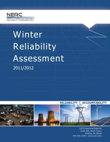 2011/2012 Winter Reliability Assessment - NERC
