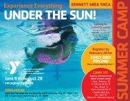 Kennett Summer Camp - 2020