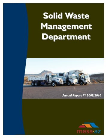 Solid Waste Management Department - City of Mesa