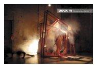 DOCK 11 Dokumentation 2011