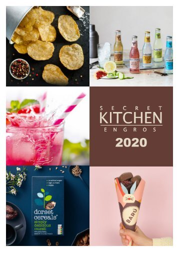 Secret Kitchen katalog 2020