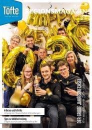 Töfte Regionsmagazin 12/2019 - Wir wünschen einen guten Rutsch!
