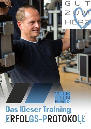 Das Kieser Training ERFOLGS-PROTOKOLL