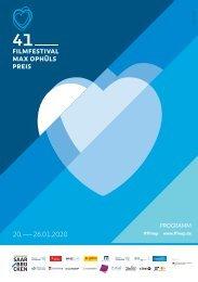 41. Filmfestival Max Ophüls Preis - Programmheft