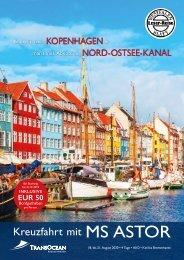 Kopenhagen mit Nord-Ostsee-Kanal