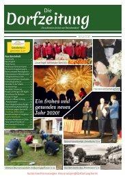 Die Dorfzeitung Reinickendorf Januar 2020