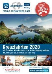 Kreuzfahrten 2020