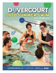 Dovercourt Summer 2020 Swim lessons