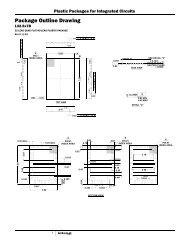 Semiconductor Packaging and Case Outlines