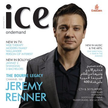 JEREMY RENNER - Emirates