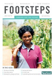 Footsteps 110: Farming for the future