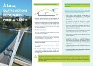 À  Liège 4 actions prioritaires pour la planète
