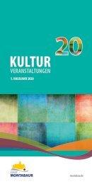 Kulturprogramm der Stadt Montabaur 1-20
