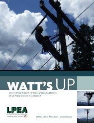 2011 LPEA Annual Report - La Plata Electric Association, Inc.