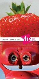 Kursbuch der vhs Witten | Wetter | Herdecke für das 1. Semester 2020