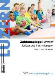 Zahlenspiegel 2019/20