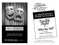 Department of Theatre & Dance - Muhlenberg College
