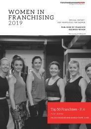 Women in Franchising Report 2019