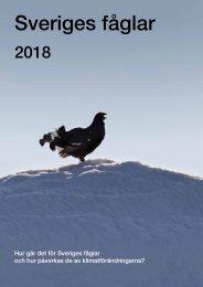 Sveriges fåglar - 2018