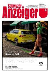 Schwyzer Anzeiger – Woche 2 – 10. Januar 2020