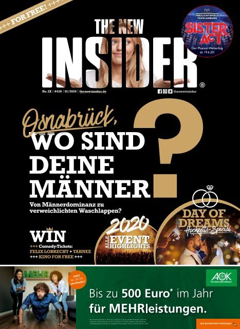 THE NEW INSIDER No. IX -  Januar 2020