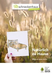 Schneckenhaus Katalog 19/20
