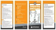 Safeguarding Leaflet
