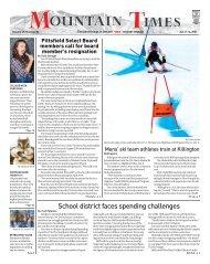 Mountain Times- Volume 49, Number 2: Jan 8-14, 2020