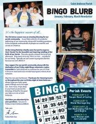 BINGO20 Winter Newsletter