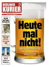 Berliner Kurier 08.01.2020