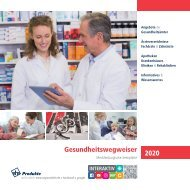 Gesundheitswegweiser Mecklenburgische Seenplatte 2020