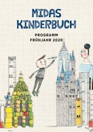 Programm Midas Kinderbuch Frühjahr 2020