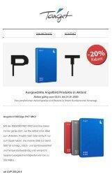 Angelbird SSD2go PKT MK2 und XT in Aktion