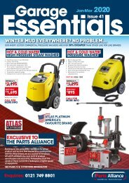 Parts Alliance Garage Essentials Winter 2020