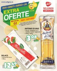 Extra oferte nr. 02 Food (promovare exclusiv online)