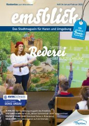 Emsblick Haren - Heft 54  (Januar/Februar 2020)