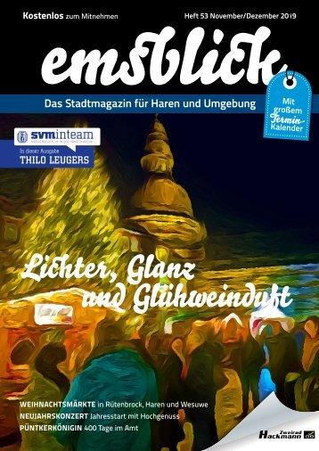 Emsblick-Haren - Heft 53 (November/Dezember 2019)