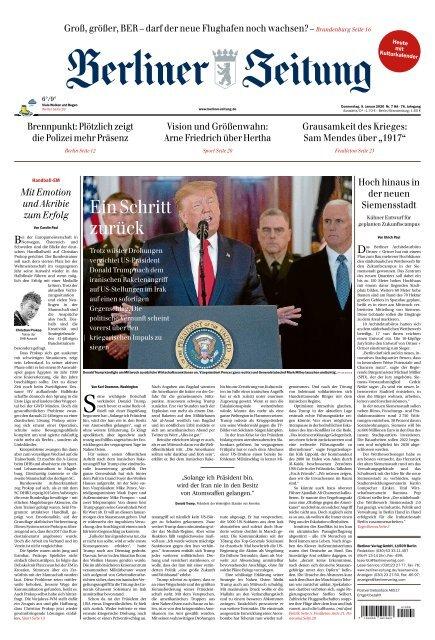 Berliner Zeitung 09.01.2020