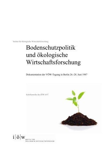 SJ - Institut für ökologische Wirtschaftsforschung