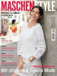 Zeitschrift: Maschenstyle - Frühjahr & Sommer 2020: Wir stricken&häkeln Mode (SC004)