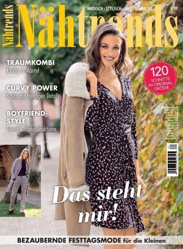 Zeitschrift: Nähtrends Nr. 1/2020