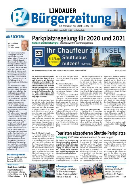 11.01.2020 Lindauer Bürgerzeitung