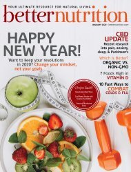 Better Nutrition January 2020
