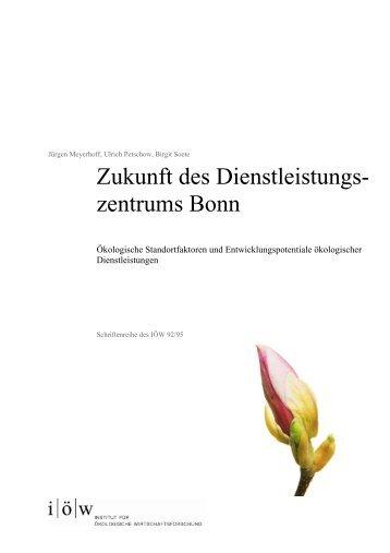 Unternehmensbezogene Handlungsfelder - Institut für ökologische ...