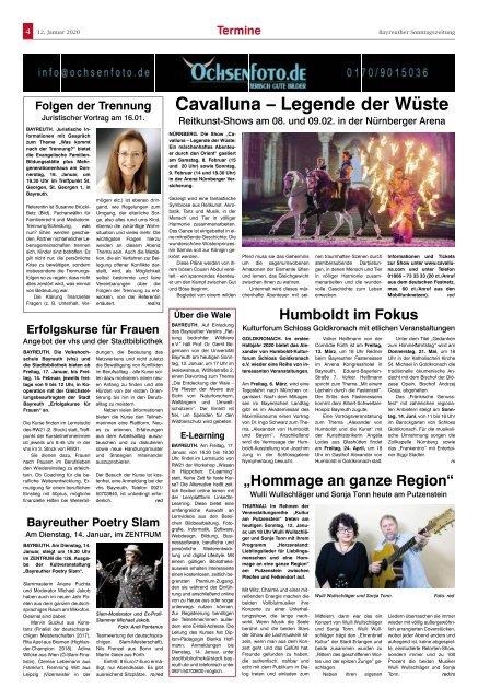 2020-01-12 Bayreuther Sonntagszeitung