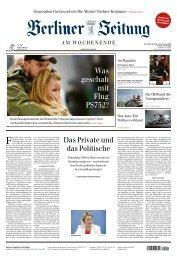 Berliner Zeitung 11.01.2020