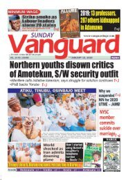 12012020 - Northern youths disown critics of Amotekun S/W security outfit